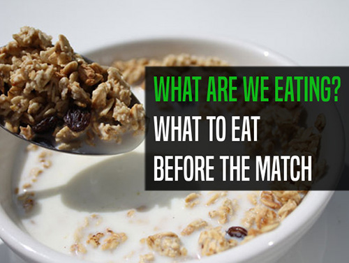 When, what and how to eat in the morning before an early afternoon match