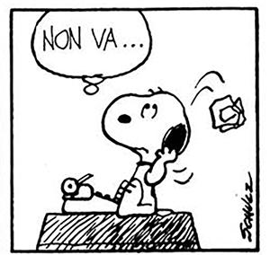 Snoopy non va non funziona