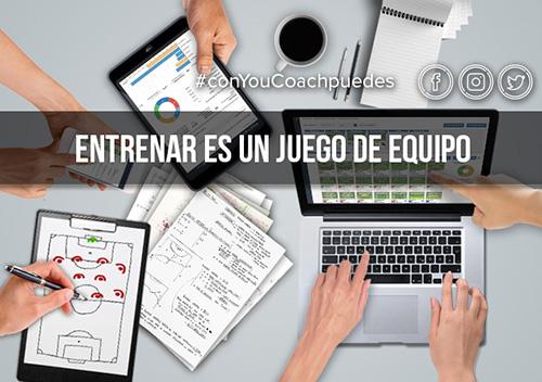 ConYouCoachPuedes: Entrenar es un juego en equipo