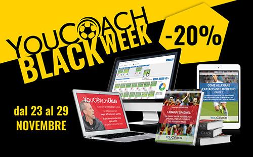 YouCoach Black Week dal 23 al 29 novembre