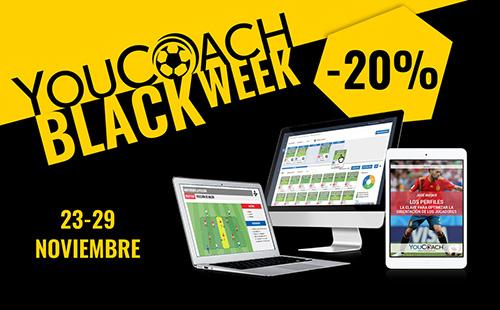 YouCoach Black Week desde 23 el 29 noviembre