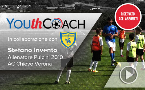 YOUTHCoach in campo con il Chievo Verona - Episodio 2